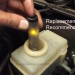 Mercedes brake fluid flush test